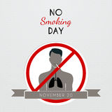 No smoking day poster Stock Photo