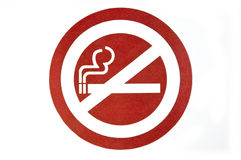 No smoking decal Stock Images