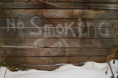 No smoking graffity Stock Image