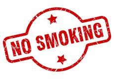 No smoking stamp. No smoking grunge vintage stamp isolated on white background. no smoking. sign royalty free illustration