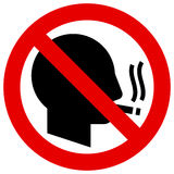 No smoking icon Stock Image