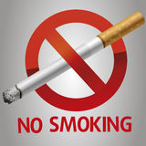 No smoking icon Royalty Free Stock Photo