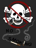 No Smoking Illustration Royalty Free Stock Photography