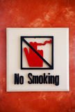 No smoking Label Maker Royalty Free Stock Images