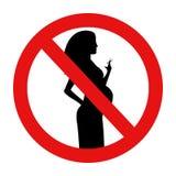 No smoking during vector illustration