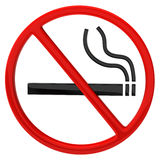 no smoking sign Royalty Free Stock Photos