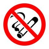 No smoking sign. Vector illustration Royalty Free Stock Photo