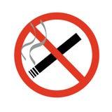 No smoking sign. An image showing no smoking Stock Photo