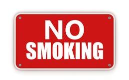 No smoking sign. No smoking(red sign on white background royalty free illustration