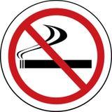 No smoking sign. On white background Stock Illustration