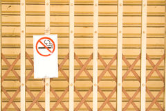 No smoking sign. Royalty Free Stock Image