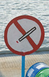 No-smoking sign Royalty Free Stock Photos