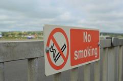 No smoking sign at airport. Royalty Free Stock Photography