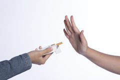 No smoking sign Stock Images