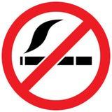No smoking sign -  illustration Royalty Free Stock Photography