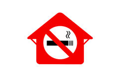 No Smoking Sign. Stock Photos
