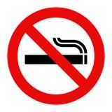 No smoking sign. Prohibited symbol isolated on white background stock illustration