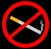 No smoking sign. For public places Stock Photo