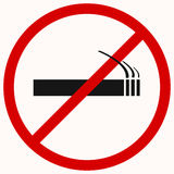 No smoking sign Royalty Free Stock Photo