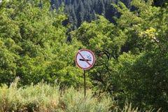 No smoking sign stock image