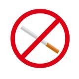 No smoking  sign. Smoke Stock Images