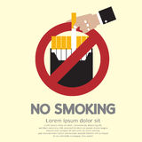 No Smoking royalty free illustration