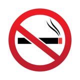 No smoking sign logo icon Stock Photography
