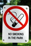No Smoking signpost Stock Images