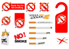 No Smoking signs Stock Image