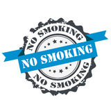 No smoking stamp Stock Photography