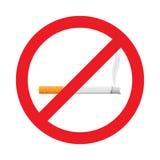 No smoking stop sign Stock Photography