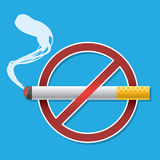 No smoking symbol Stock Photography