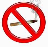 No smoking symbol Royalty Free Stock Image