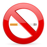 No smoking symbol Royalty Free Stock Photo