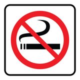 No Smoking Symbol royalty free illustration