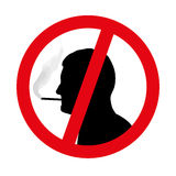 No smoking symbol  Stock Image