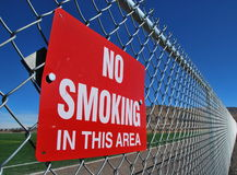 No Smoking - Vanishing Point Royalty Free Stock Photos