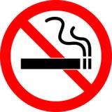 No smoking. Vector illustration of no smoking icon Stock Photo