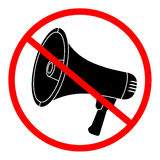 No sound Royalty Free Stock Images
