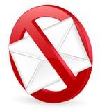 No spam Royalty Free Stock Photo