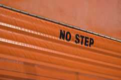 NO STEP Stock Photos