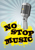 No stop music Stock Image