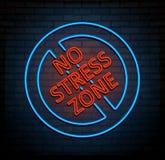 No stress zone concept. Royalty Free Stock Photo