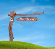 No stress zone Royalty Free Stock Photo