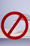 No sugar Royalty Free Stock Images