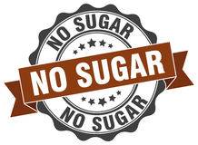 No sugar stamp. Sign. seal Royalty Free Stock Photography