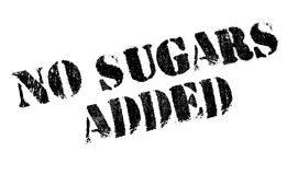 No Sugars Added rubber stamp Royalty Free Stock Photos