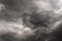 No Sun Weather. Storm Grey Cloud Royalty Free Stock Image