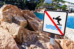 No swim Stock Images