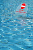 No swimming Stock Image